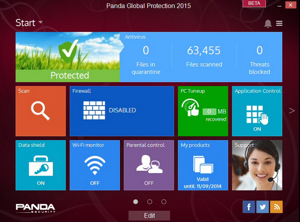 Panda internet Security 2015 Crack