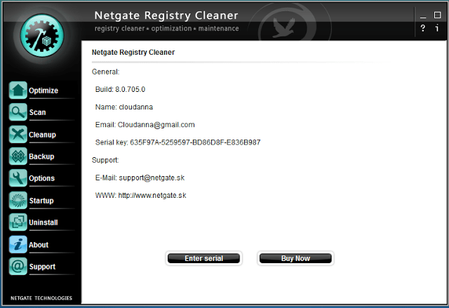 NETGATE Registry Cleaner 8.0.605.0