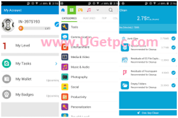 Download Mobogenie-acount-UGetpc