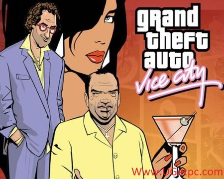 GTA Vice City Free Download-Cover-UGetpc