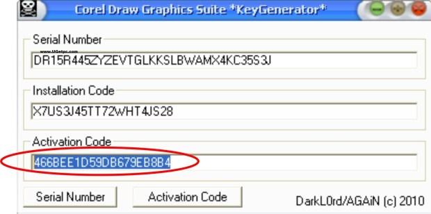 download corel draw x5 serial key ugetpc