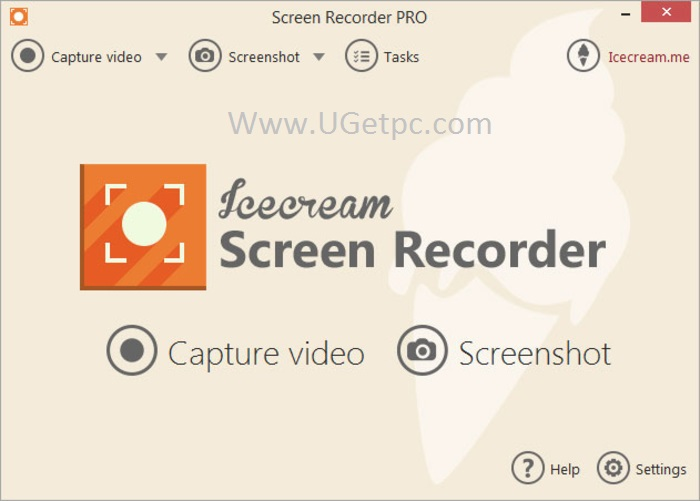 IceCream Screen Recorder crack-pic-UGetpc