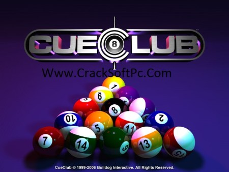 Cue Club Snooker Game-cover-CrackSoftPc