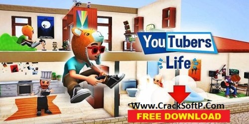Youtubers Life Free Download-cover-cracksoftpc