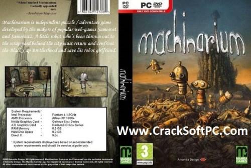 Machinarium Free Download Cover-CrackSoftPC