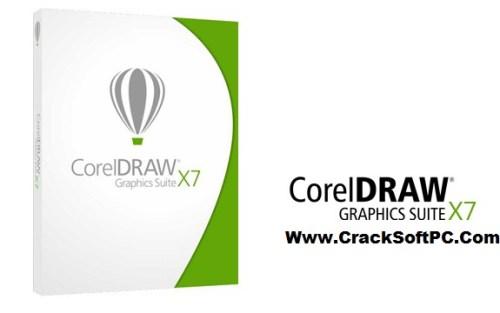 Download Corel Draw X7 Keygen 2018 Crack-Cover-CrackSoftPC