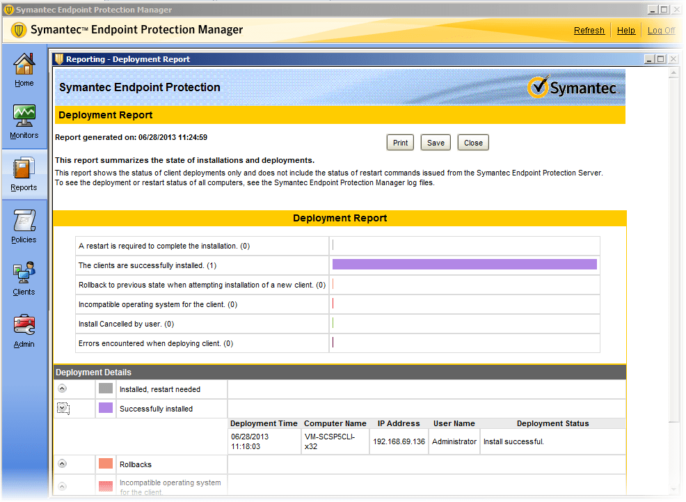 symantec endpoint protection manager update download