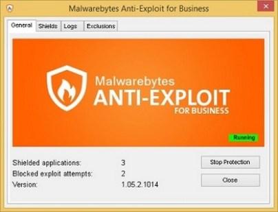 Malwarebytes Anti-Exploit for Business