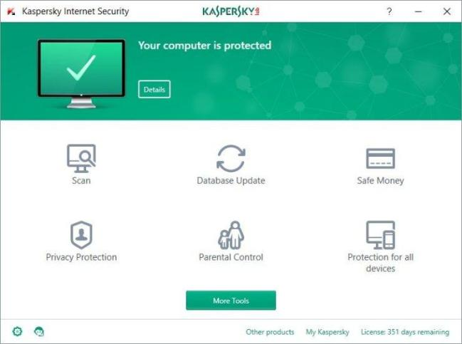 Kaspersky Internet Security Windows