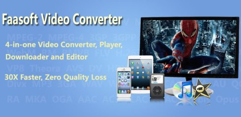 Faasoft Video Converter windows