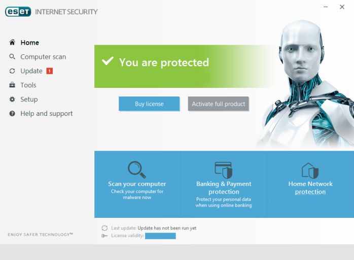 ESET NOD32 Internet Security Windows
