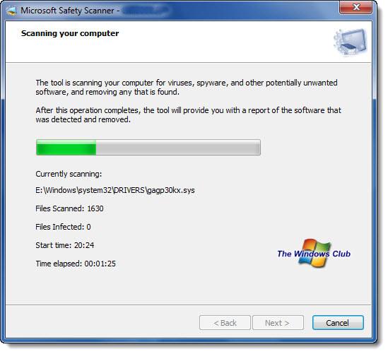 Microsoft Safety Scanner Windows