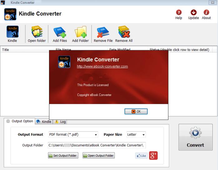 Kindle Converter