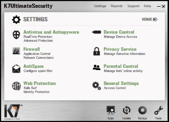 K7 Ultimate Security Windows