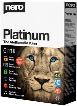 Nero Platinum Windows