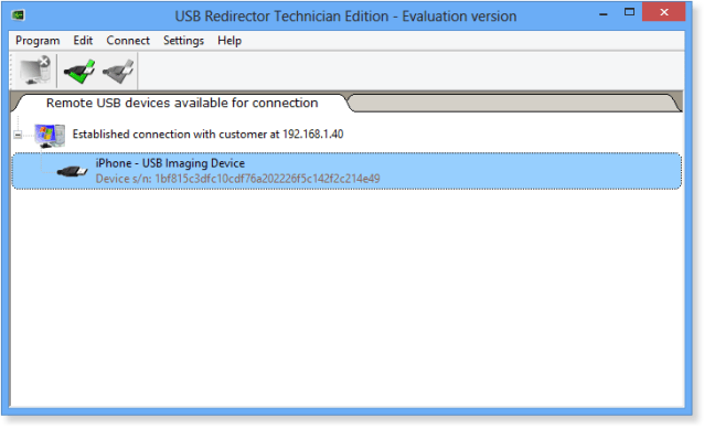 USB Redirector Windows