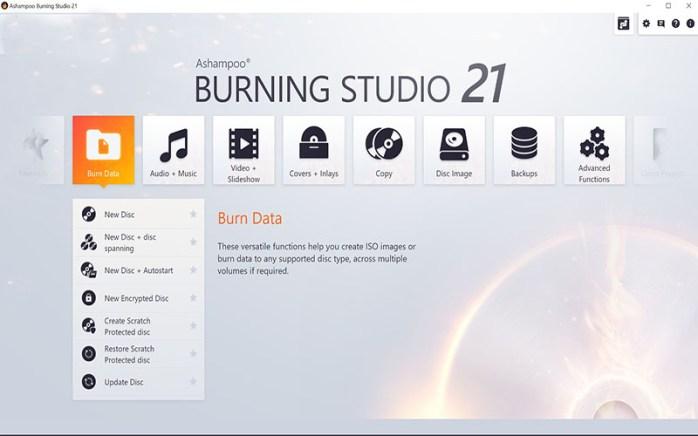 Ashampoo Burning Studio 2021 Windows