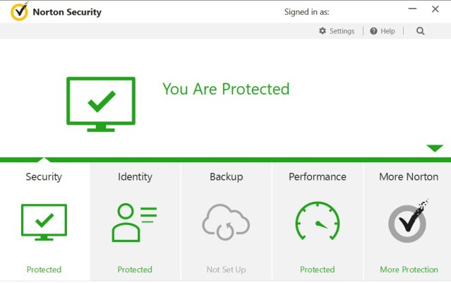 Norton Security Premium windows