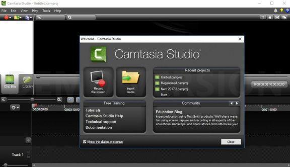 Camtasia Studio latest version
