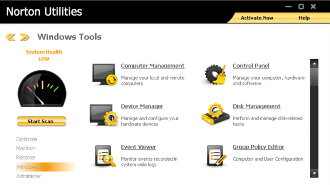 Norton Utilities latest version
