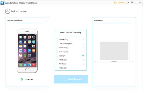 Wondershare MobileTrans latest version