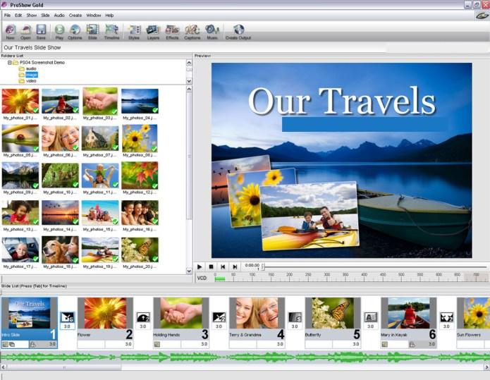 Photodex ProShow Gold windows