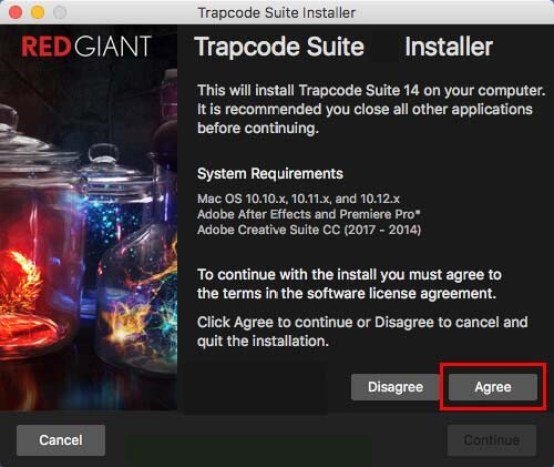 Red Giant Trapcode Suite windows