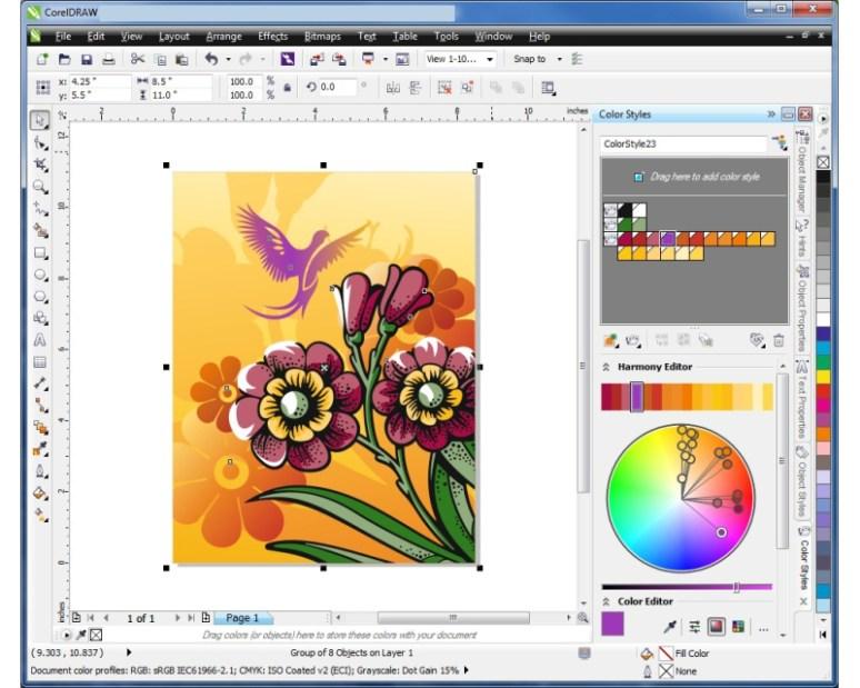 CorelDRAW Graphic Suite latest version