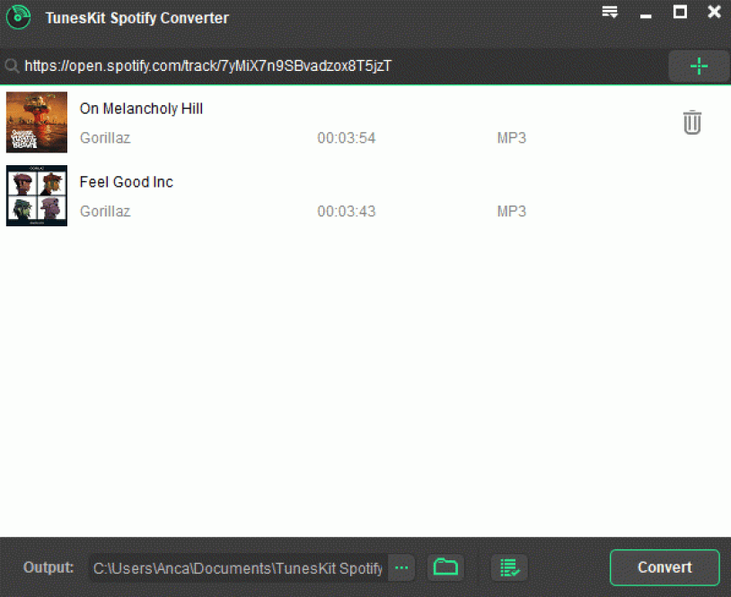 TunesKit Spotify Converter windows