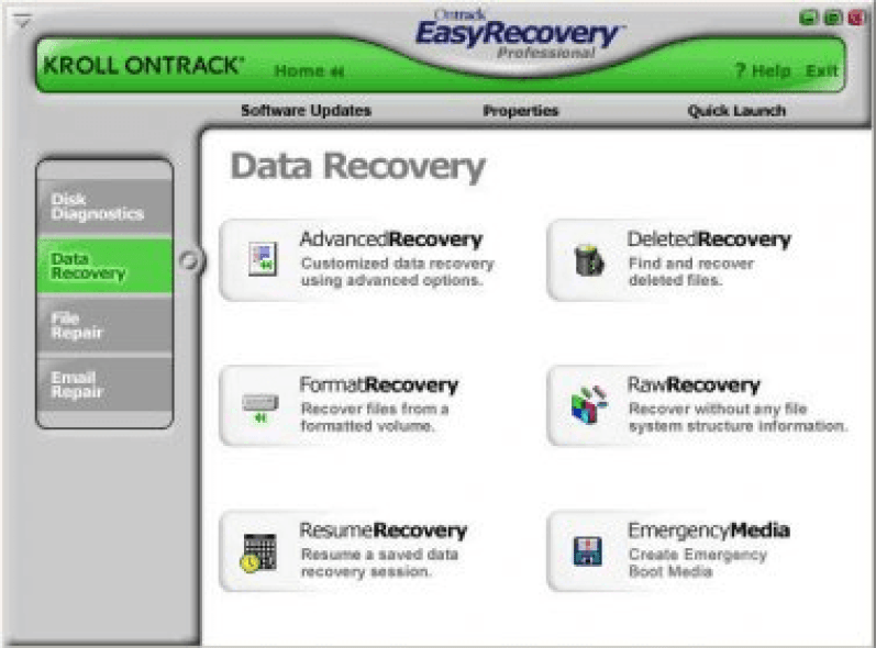 Ontrack EasyRecovery Pro windows