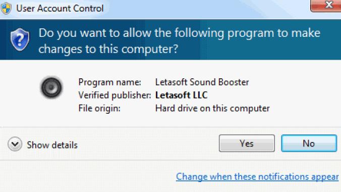 Letasoft Sound Booster windows