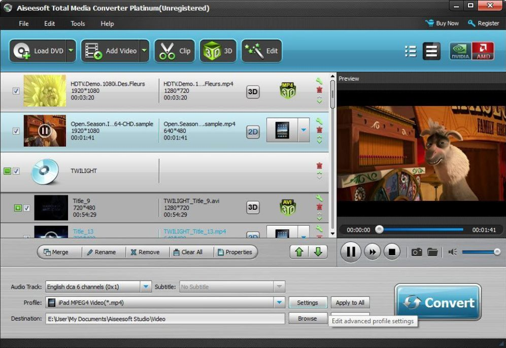 Aiseesoft Total Media Converter latest version