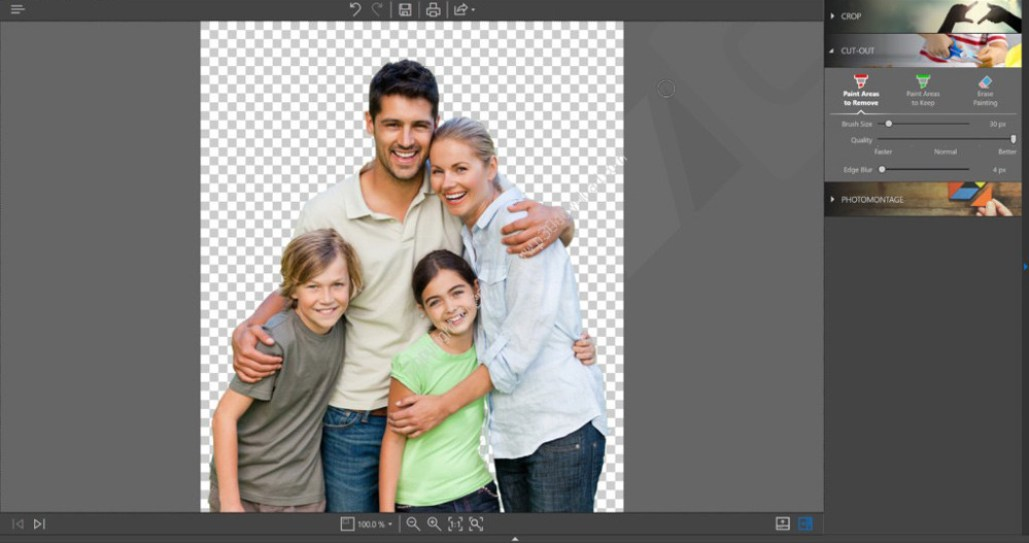 InPixio Photo Cutter windows
