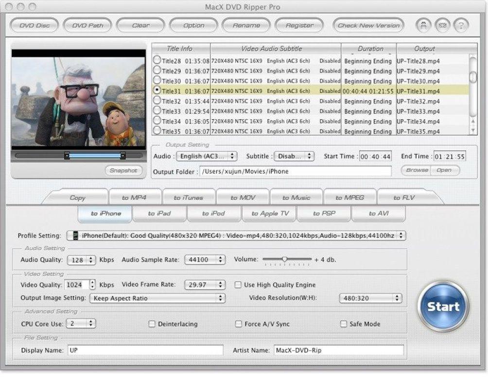 MacX DVD Ripper Pro latest version