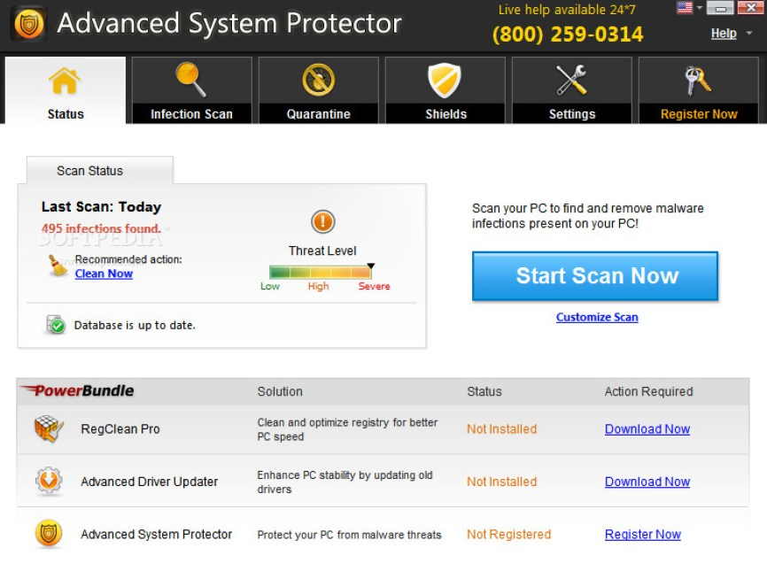 Advanced System Protector latest version