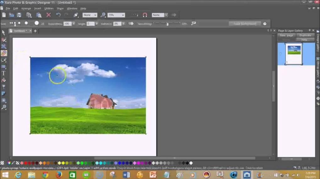 Xara Photo & Graphic Designer latest version