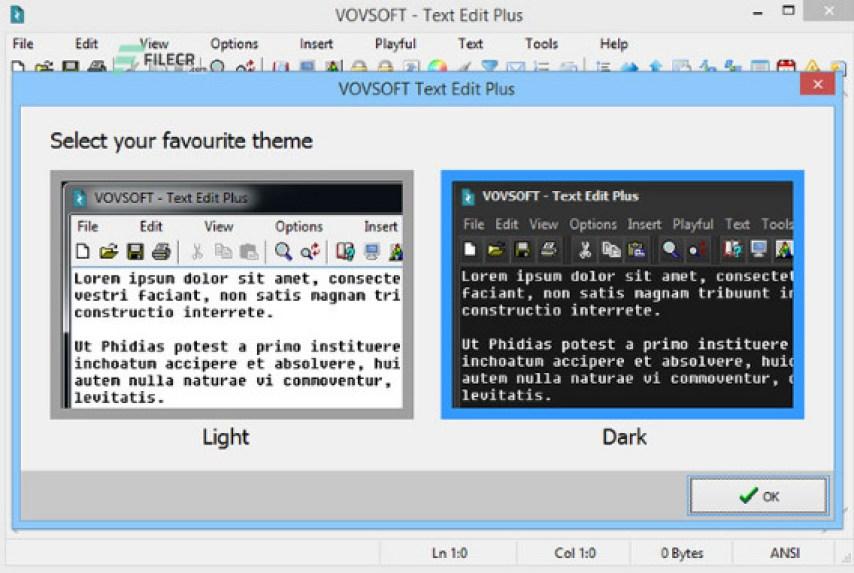 VovSoft Text Edit Plus windows