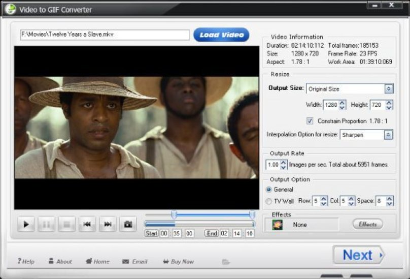 WonderFox Video to GIF Converter windows