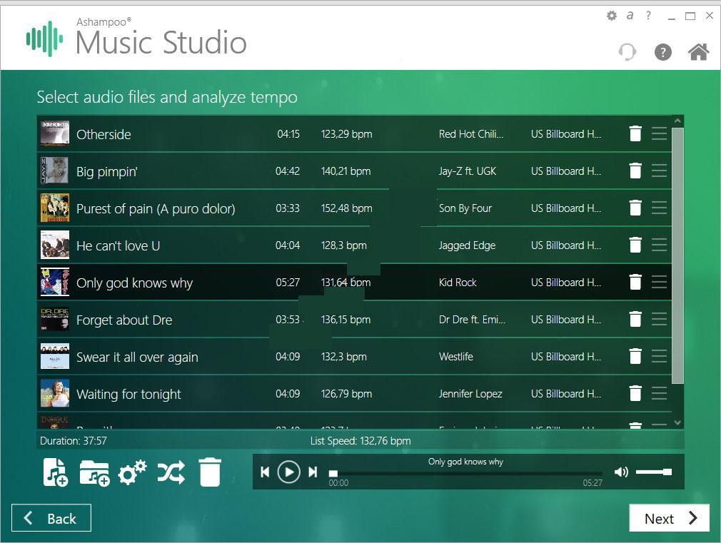 Ashampoo Music Studio windows