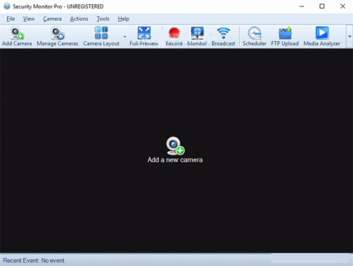 Security Monitor Pro windows