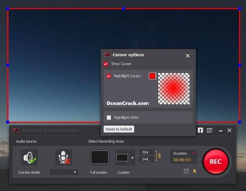 Aiseesoft Screen Recorder windows
