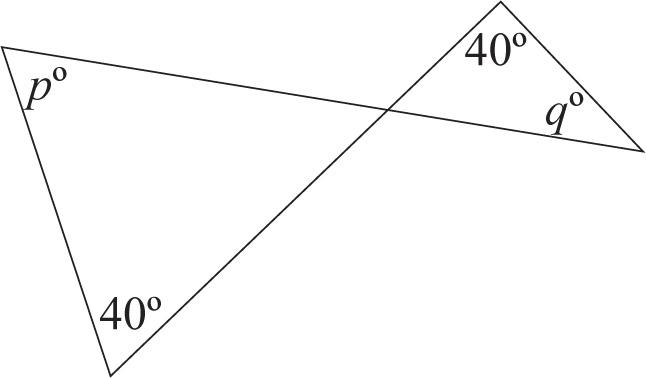 ISEE Upper Level Quantitative Comparisons: Triangles