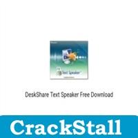 DeskShare Text Speaker crack software