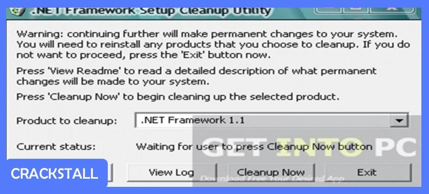 .NET Framework Cleanup Tool-crack softwares