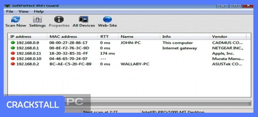 SoftPerfect WiFi Guard-pc crack software