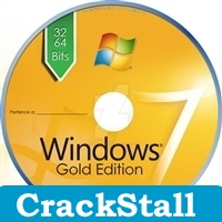 Windows 7 Gold Edition ISO crack softwares