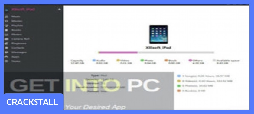 Xilisoft iPad to PC Transfer-cracked software for pc