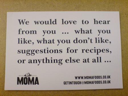 moma card