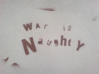 War is Naughty