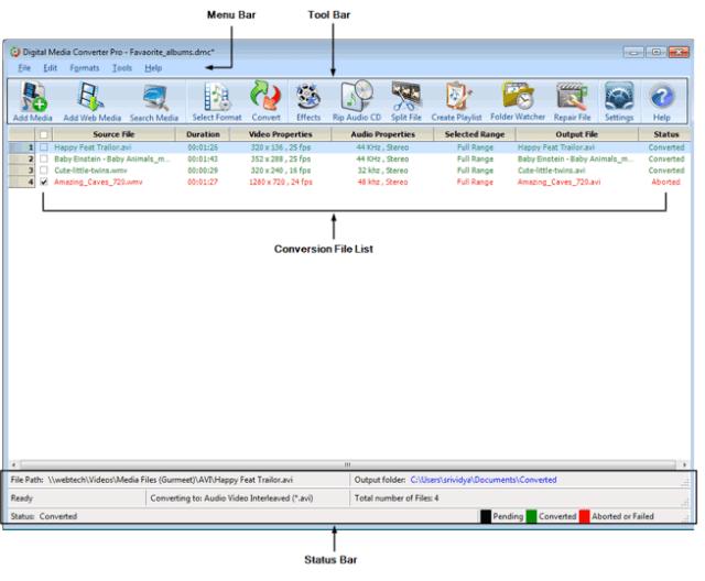 DeskShare Digital Media Converter